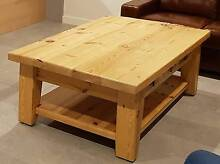 Baltic pine coffee table Glenelg Holdfast Bay Preview