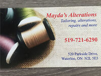 Mayda's Stitching, Alterations & Tailoring!