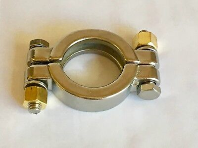 1.5 Stainless Steel Tri Clamp Sanitary High Pressure Clamp Bolted Closed Loop