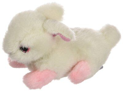 """MULTIPET LOOK WHO'S TALKING BUNNY RABBIT 6"""" PLUSH SOFT DOG TOY. FREE SHIP TO USA"""