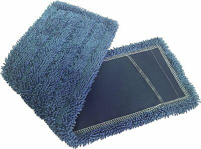Dust Mops 18 Blue-microfiber Industrial Style - 6 Pack