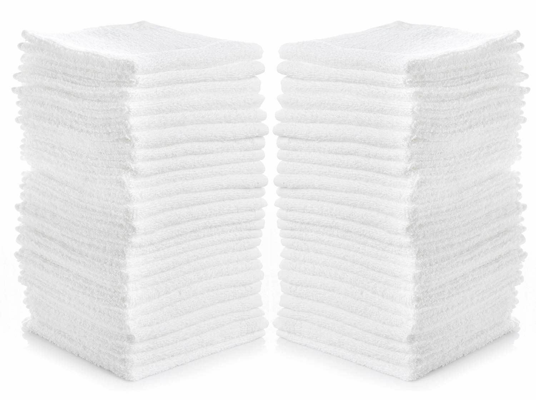 Bath Towel 24 Piece Washcloth Set Egyptian Cotton Luxurious