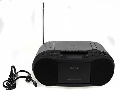 Sony CFD-S70 CD Cassette Tape Player AM/FM Radio Boombox](Boom Boxes)