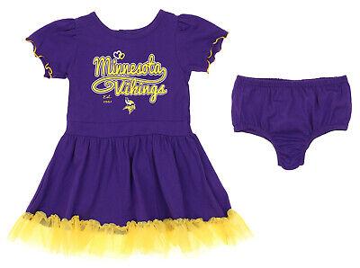 Outerstuff NFL Infant / Toddler Girls Minnesota Vikings Love Dress Two Piece -