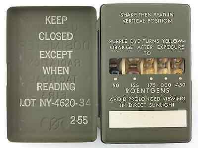 Antique US Army Military Dosimeter Excellent Rare Condition