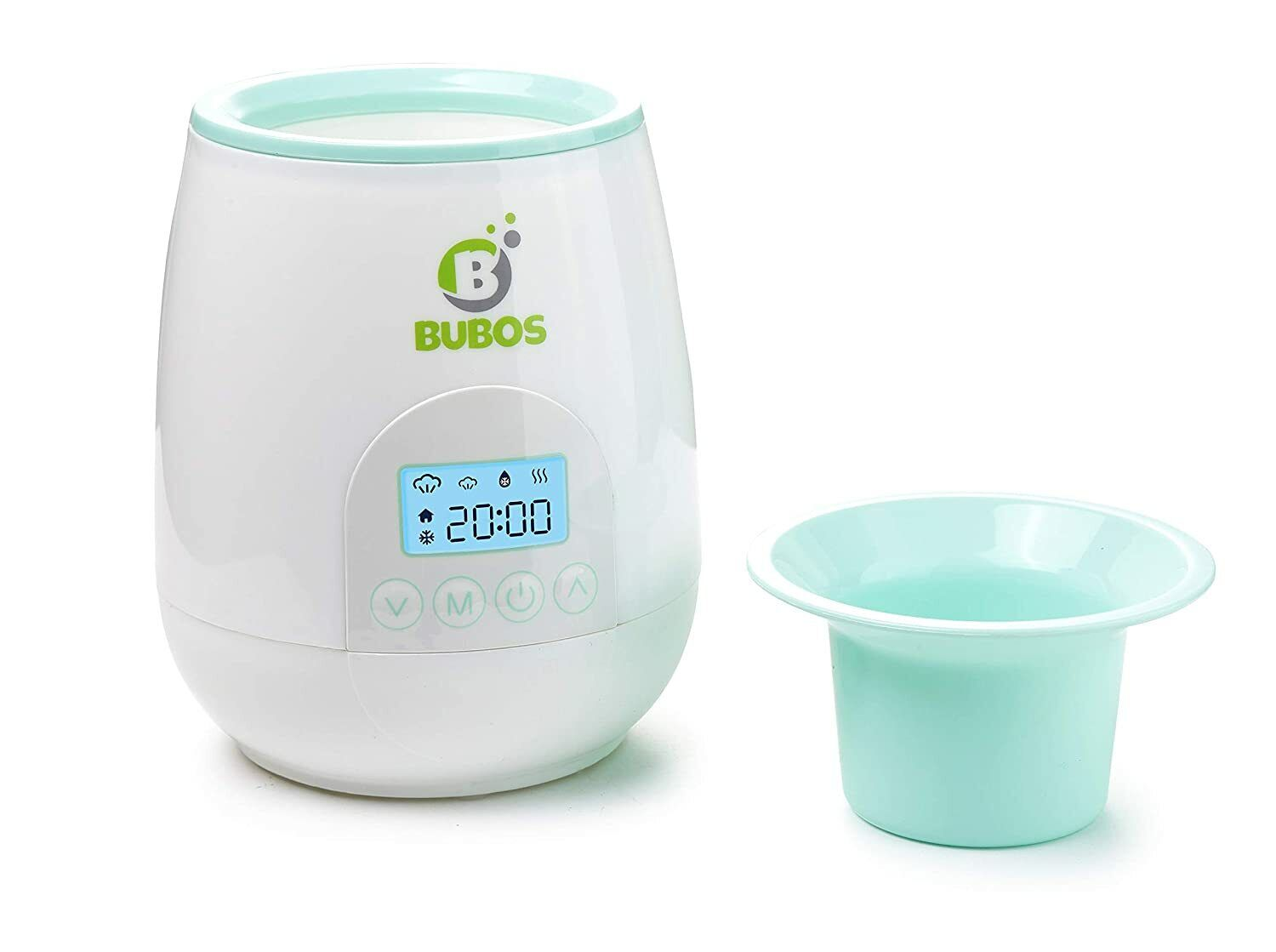 Bubos Smart Baby Bottle Warmer with Backlit LCD Real Time Di