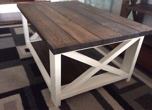 Rustic Farmhouse X Coffee Table