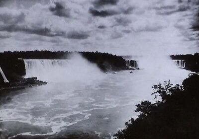 Niagara Falls from the Canadian Side, Magic Lantern Glass Slide, from (Glasses From The Side)