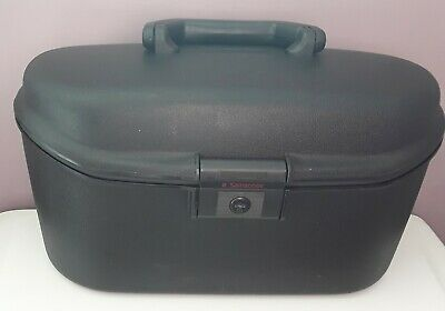 samsonite Black Hard Shell vanity case                  (955)