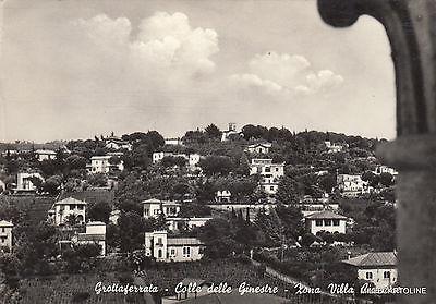 * GROTTAFERRATA - Colle delle Ginestre - Zona Villa Cicerone 1956