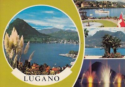 Alte Postkarte - Lugano