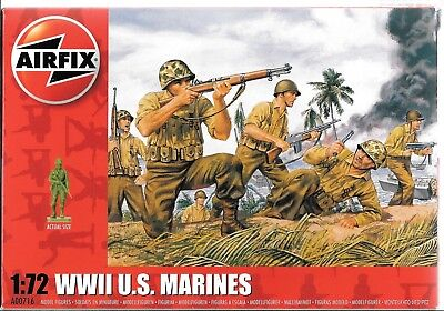 Airfix WWII US Marines, Figures in 1/72 716 ST