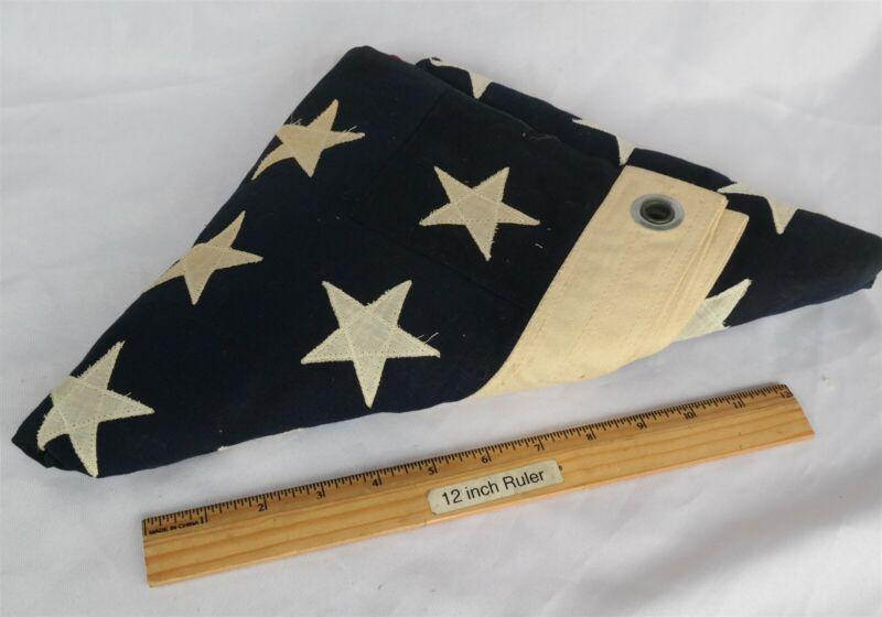 "Vtg Un-flown 48 star USA made Flag 40 1/2"" x 60"" Very Nice"