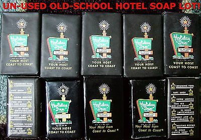10 Un Used Vintage Hotel Hand Soap  Holiday Inn America S Innkeeper Usa Bar Lot