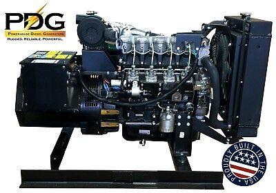Isuzu 18 Kw Diesel Generator 5yr5000hr Warranty Emergency Standby Genset