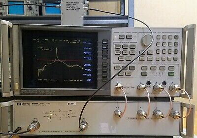 Hpagilent 85046b S-parameter Test Set 300 Khz To 2 Ghz. 75 Ohms. Tested