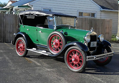 Ford: Model A Phaeton 4 Door Convertible 1929 ford model a phaeton 4 door convertible