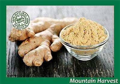 Ginger Root Powder (100% ORGANIC GINGER ROOT POWDER (ZINGIBER OFFICINALE) 1 2 4 6 8 10 12 OZ )