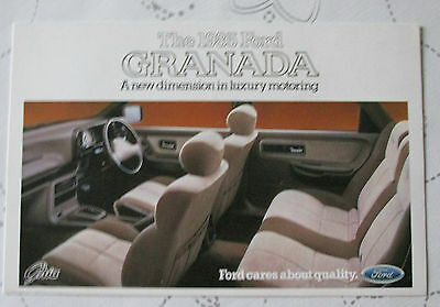 1985 FORD GRANADA GHIA POSTCARD REF NO SP 270