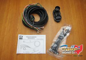 2014-18 Dodge Durango Trailer Tow Hitch Wiring Harness Kit Mopar OEM 82213986AB