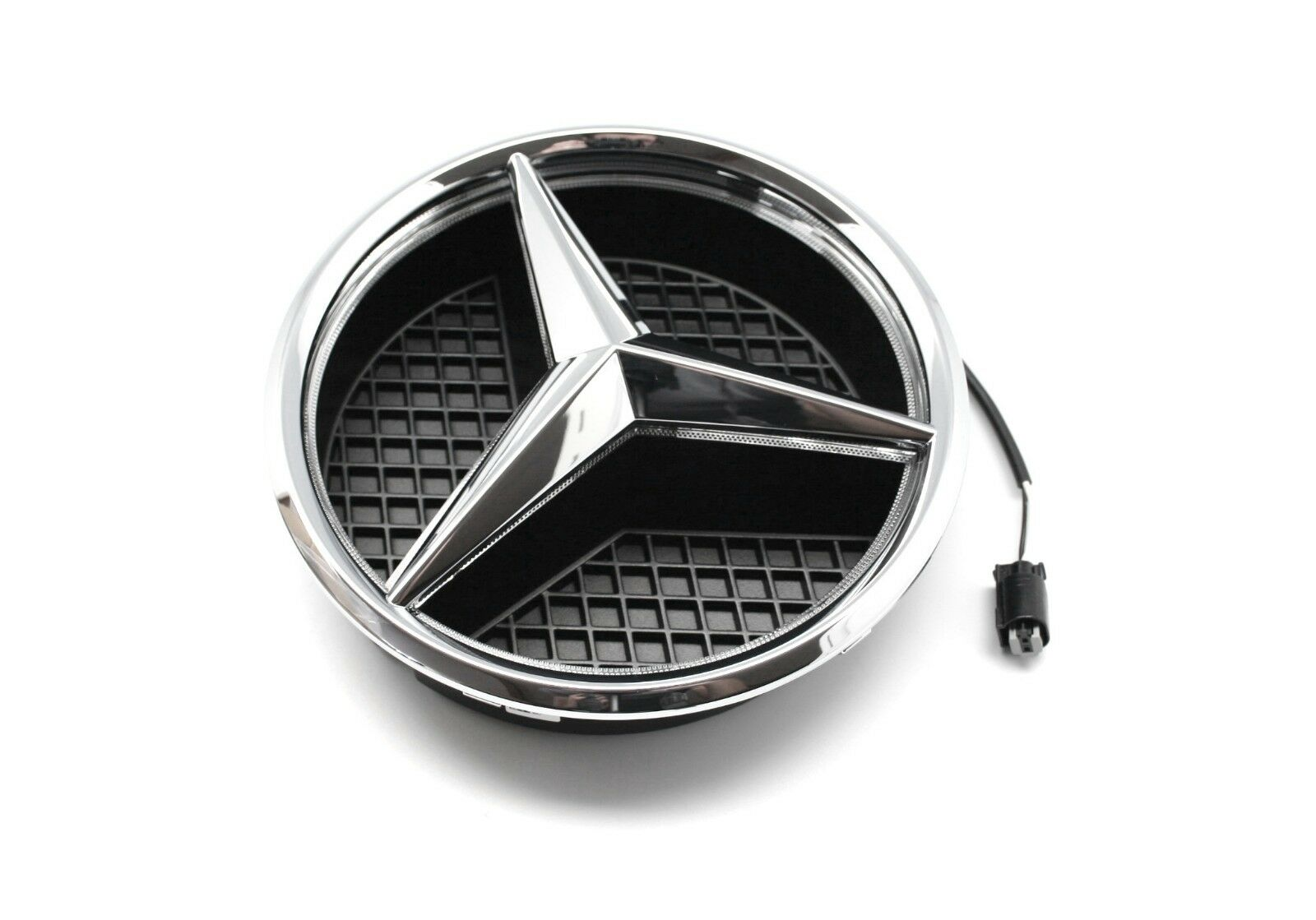 Details About Mercedes Benz Genuine Oem Illuminated Star Emblem Only Cla Gla B Class