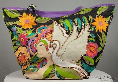 Laurel Burch The Swan Goddess Tote Bag Purse Handbag Goddess Tote Bag