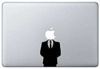 Anonymous Anon Sticker Skin MacBook Pro Mac Air funny Vinyl Decal