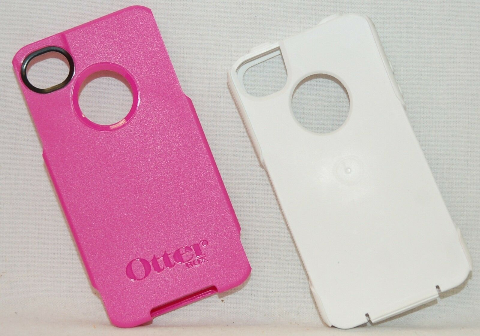 New Genuine Otterbox Commuter Pink Apple Iphone 4 4s Smart Phone