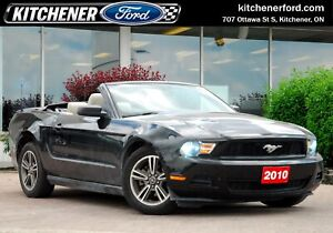 2010 Ford Mustang V6 DROPTOP!/LEATHER/ONLY 89K KMS/SPOILER