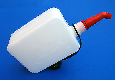 Universal Motorcycle Scooter Plastic Fuel Friend Petrol Can 0.5L Filling Spout