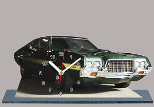 model cars ford gran torino clint eastwood 04 with clock. Black Bedroom Furniture Sets. Home Design Ideas