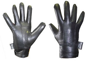G33-LADIES-LEATHER-SEAMED-THERMAL-FLEECE-LINED-BUTTON-CUFF-DRIVING-GLOVE-BLACK