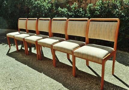 X6 Original NOBLETT Dining Chairs Teak Mid century Retro Vintage5X Mid Century Mustard Dining Chairs by FLER   Dining Chairs  . Dining Chairs Gumtree. Home Design Ideas