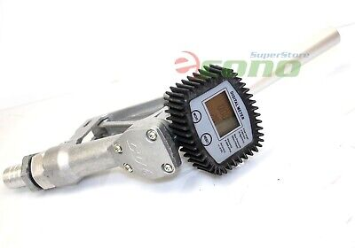 16 Gpm Mechanical Gas Diesel Digital Fuel Nozzle W Meter Accuracy Reading