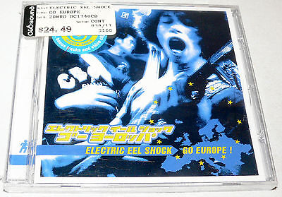 Electric Eel Shock - Go Europe 1 (Blitz Core) CD NEW SEALED