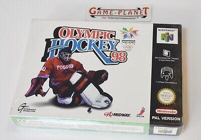 Nagano Olympic Hockey 98 Nintendo 64 N64 PAL Eishockey Sport NEU in OVP Folie f