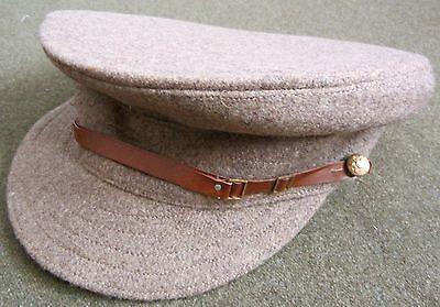 "WWI BRITISH  M1905 WOOL TRENCH ""FLOPPY"" CAP-LARGE"