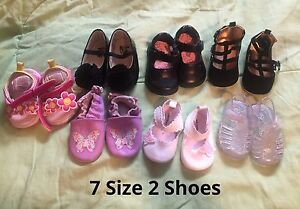 Baby Girl Size 2,3,4 Shoes