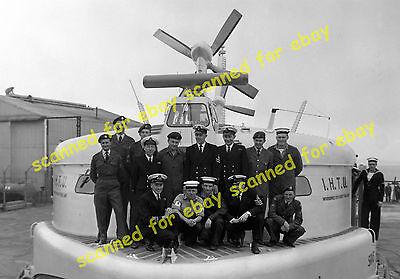 Photo - Westland SRN3 hovercraft, Lee on Solent, June 1964
