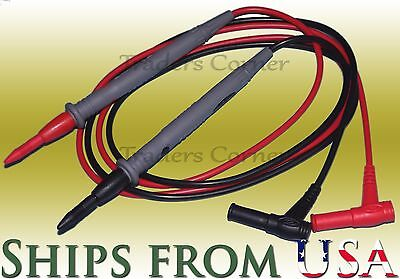 Top Quality Replacement Test Leadsprobes For Fluke Other Multimeters 42 Long