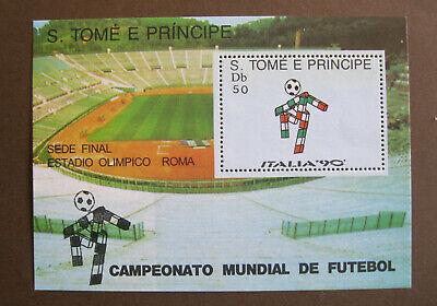 S. TOMÉ E PRINCIPE - ITALIA '90 - CAMPEONATO MUNDIAL DE FUTEBOL...