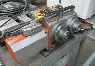 Haas Ha5c-2 Dual Station 5c Programmable Rotary Table 4th Axis 17 Pin Brush