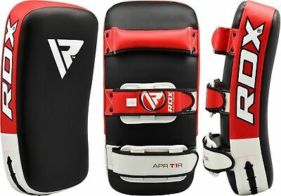 RDX Muay Thai Pad Training Curved Kickboxing Kicking Strike Shield Coaching Kick