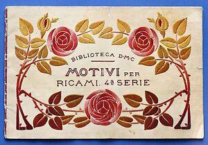 Moda-Ricamo-Biblioteca-DMC-Motivi-per-ricami-4-serie