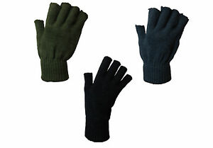 MENS-3prs-CHUNKY-WINTER-FINGERLESS-THERMAL-WORK-GLOVE