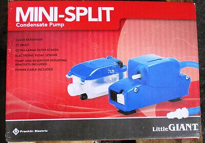 Little Giant Pump Ec-1dv Mini Ec Series 14 Automatic Condensate Removal 553507