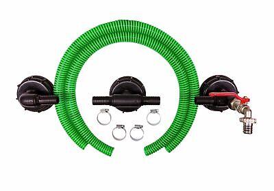 Ibc Connector Rain Tank Connector Tank Connector Dn 80 3-fach Adjacent