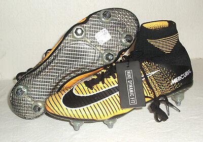 New Nike Mercurial Superfly V FG Soccer Cleats, Men's Size 9, Black, 831940-801