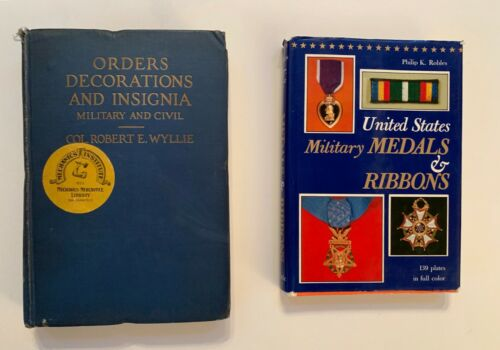 Orders Decorations and Insignia Military and Civil and U.S Military Medals
