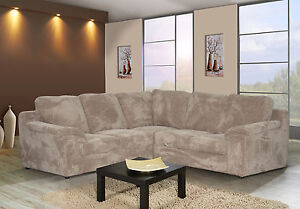NEW-AMY-JUMBO-FABRIC-CORNER-SOFA-IN-BLACK-GREY-BEIGE-ARMCHAIR-AVAILABLE